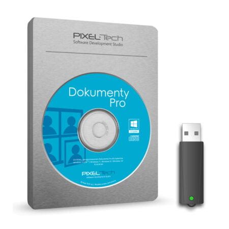 Dokumenty Pro 8 z kluczem sprzętowym USB 12 m-cy